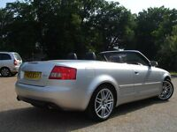 /// AUDI A4 CONVERTIBLE/CABRIOLET 2.4 SPORT /// 2003 PLATE LEATHERS /// CHEAP