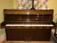 Gilmahn upright full keyboard piano.