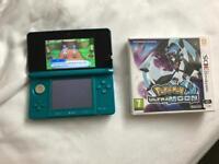 Nintendo 3DS with Pokemon Ultra Moon