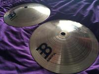 "2x Meinl 8"" Bell Cymbals (£35 for both cymbals!)"