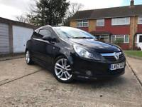 Vauxhall Corsa 1.4 SXI Black, Pan Roof, Sat Nav, Aux OPEN TO OFFERS!