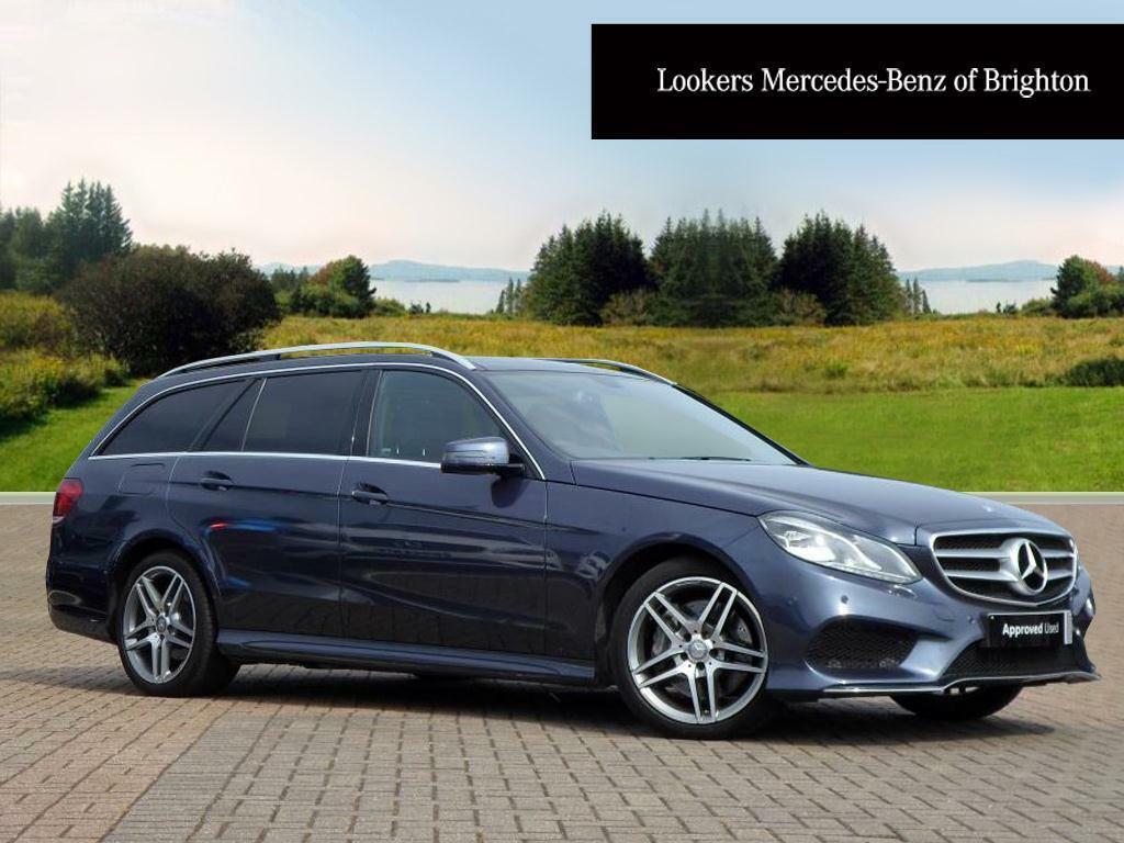 Mercedes benz e class e350 bluetec amg line premium blue for Mercedes benz e class e350 bluetec