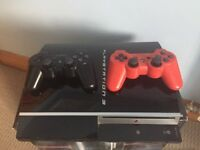 PS3 bundle. Boxed. Two controllers. All leads. Really good condition. Comes with 20 games.