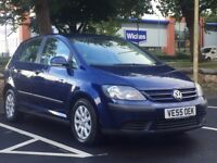VW GOLF PLUS 2006 (55 REG)*AUTOMATIC (DSG)*LOW MILES*LONG MOT*FULL VW SERVICE HISTORY*PX WELCOME*