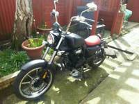 bobber 125 cc for sale/ swap for 7seater car
