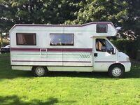 Peugeot campervan only 15000 miles