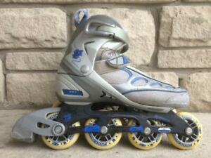 Firefly Inline Skates (Rollerblades) ABEC-5 76/80mm/80A Womens Size 9