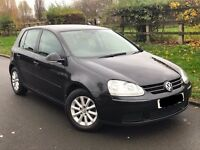 Volkswagen Golf 1.9 TDI Match 5dr Black, 2007, **Sold As Seen**