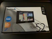 "Garmin satnav nuvi 52LM with free lifetime maps western europe (24 countries) 5"" screen"