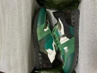 Valentino Camo Rockrunner Trainers Size 7 Uk New Season from Harrods!