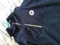 Converse 1/2 zip hoody size L