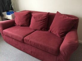 Sofa bed in very good condition with pull out metal frame bed