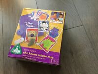 Early Learning Who Knows whose Nose Game