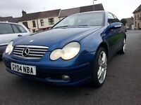 Mercedes C220 CDI SE Coupe, 2004, 6 speed manual, In exceptional condition.