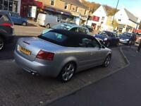 2008 08 Audi A4 2.0 Tdi S Line convertible CHEAPEST ON NET