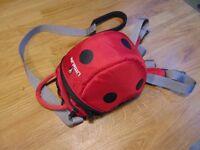 Little Life Ladybird Toddler Rucksack with Reins