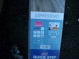ESPRESSIVO QUICK STEP DARK OAK LAMINATE FLOORING