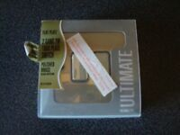 *** One Brand New Polished Brass Light Switch 2 Gang ***