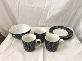 Dinnerware - plates, cups, bowls