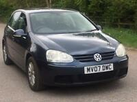 VW GOLF AUTOMATIC ** SERVICE HISTORY ** LONG MOT