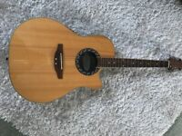 Ovation Applause Semi Acoustic Guitar