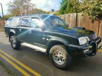 MITSUBISHI L200 WARRIOR 2004, LEATHER INTERIOR, MOT, TOP SPEC 100K MILES ONLY!