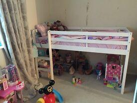 Midsleeper shorty bed frame