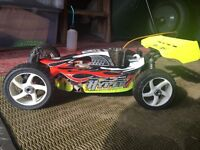 RC NITRO 1:8 SCALE HYPER 7 RACE TUNED BUGGY THAT HAS BEEN TESTED AND TUNED VERY FAST