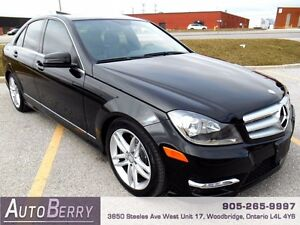2013 Mercedes-Benz C-Class C300 4MATIC ** Certified & E-Test ***