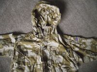Bitish ARMY DPM Desert Camo jackets & jumper & trousers & other items £35 the lot IDEAL FOR FISHING