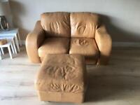 Leather sofa 3 seater, 2 seater
