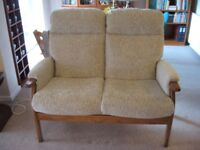 Cintique 2 seater sofa - Cheshire. New in Feb only used for 1 week.