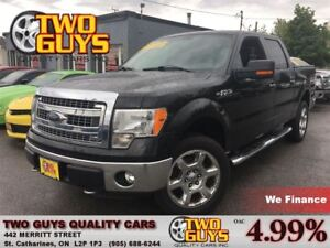 2013 Ford F-150 XTR 4X4 LEATHER 5.0L 6PASS TOW PKG
