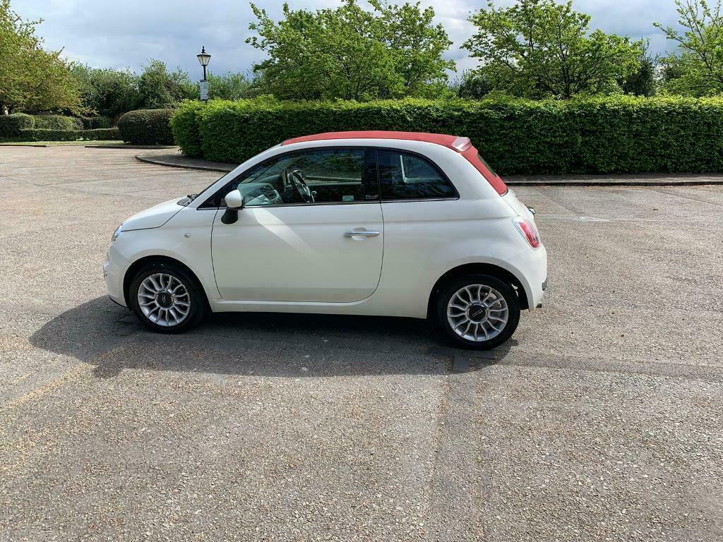 FIAT 500 LOUNGE 2013 CONVERTIBLE 1 0 MANUAL PETROL LONG MOT DRIVES LOVELY |  in Waltham Cross, Hertfordshire | Gumtree