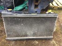 Subaru imprez radiator and fans £55