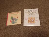 Baby record books