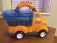 Little tikes pop haulers push along lorry
