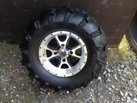 Tires and RS for Artic cat atv