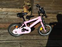 Ridgeback honey girl bike 4-6 years old