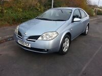 Nissan Primera 2.2 SX DCi 5 Doors, Manual, 05 Reg, Sat Nav, Reverse Camera, Good Condition