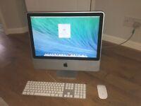 21.5 Inch Apple iMac - 2ghz Core 2 Duo - 4gb RAM - 250gb HDD