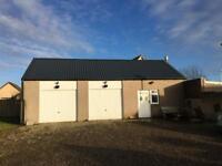 Workshop/ triple garage / storage