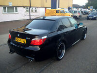 BMW 525 DIESEL . FULL M5 REPLICA. 1 YEAR MOT. FULLY LOADED. SUPERB DRIVE. CHEAPEST IN UK