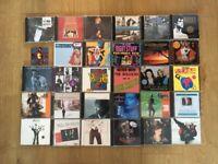 100 + CD's Beatles Madonna Jackson Pistols 70's 80's 90's Dance Pop Rock Soul