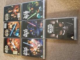 Star Wars 1-6 plus bonus material