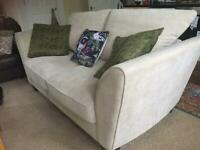 3 seater fabric sofa/furniture village