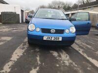 Volkswagen polo 1.2 S 10 month's mot cheap car