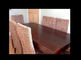 Beautiful, rectangular mango wood dining table
