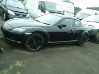 mazda rx8 2.6 breaking for spares