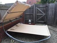 Brand New FoxHunter Garden Outdoor Patio Sun Lounger